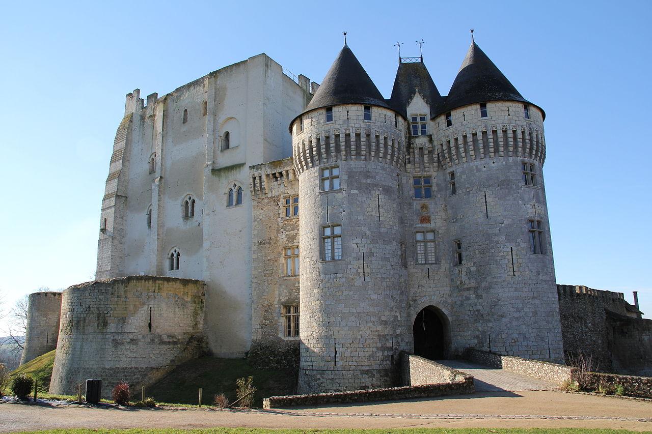Le château médiéval Saint-Jean à Nogent-le-Rotrou