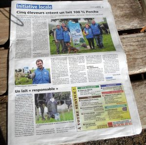 Extrait presse intérieur - Octobre 2018 - Pur Perche dans le journal